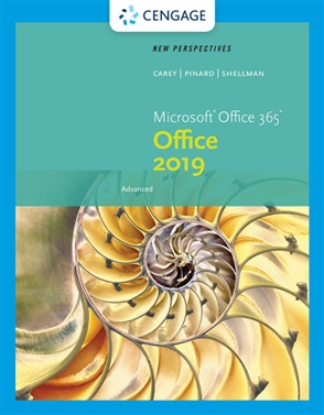 New Perspectives Microsoft® Office 365 & Office 2019 Advanced - 9780357360521