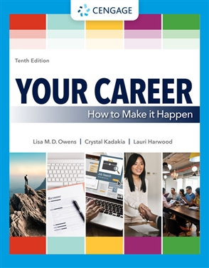 Your Career: How To Make it Happen - 9780357361351