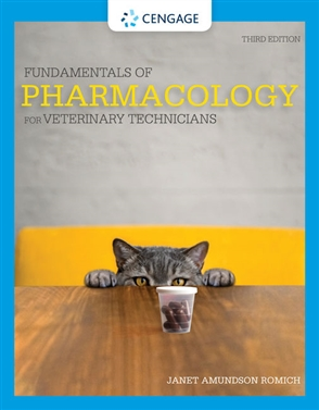 Fundamentals of Pharmacology for Veterinary Technicians - 9780357361474