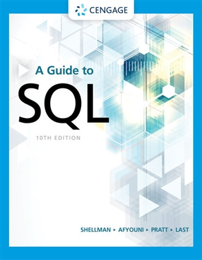A Guide to SQL - 9780357361689