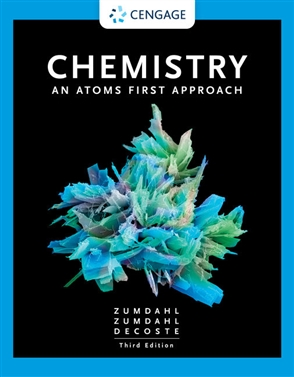 Chemistry: An Atoms First Approach - 9780357363362