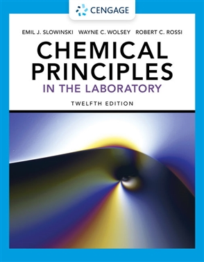 Chemical Principles in the Laboratory, Spiral bound Version - 9780357364536