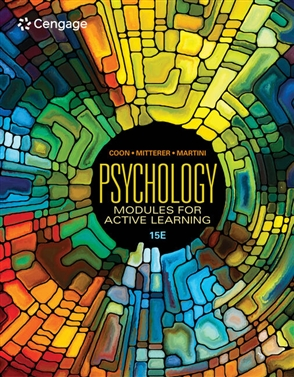 Psychology: Modules for Active Learning - 9780357371596