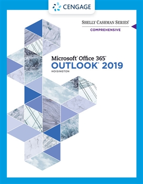 Shelly Cashman Series® Microsoft® Office 365® & Outlook 2019 Comprehensive - 9780357375396