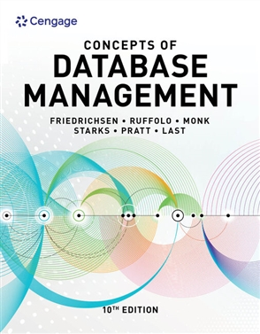 Concepts of Database Management - 9780357422083