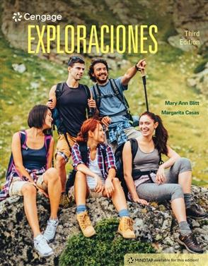 MindTap for Blitt/Casas' Exploraciones, 1 term Instant Access - 9780357424155