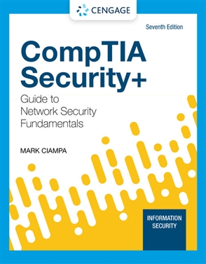 CompTIA Security + Guide to Network Security Fundamentals - 9780357424377
