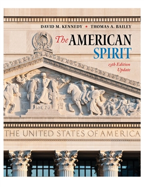 The American Spirit 13th Edition Update - 9780357432815