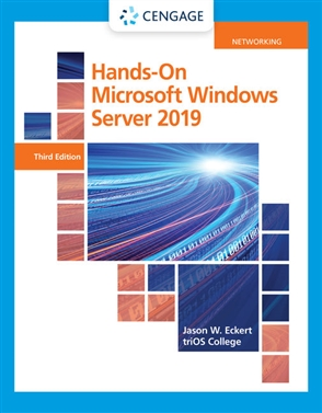 Hands-On Microsoft® Windows® Server 2019 - 9780357436158