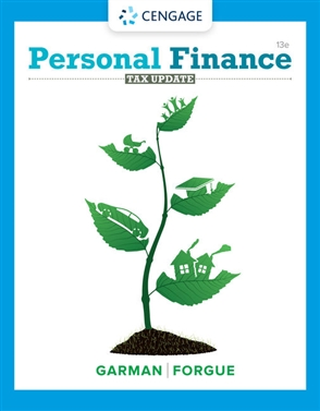 Personal Finance Tax Update - 9780357438916