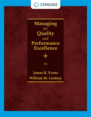 Managing for Quality and Performance Excellence - 9780357442036