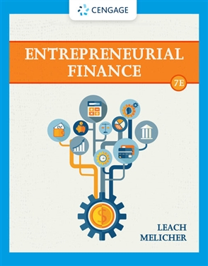 Entrepreneurial Finance - 9780357442043
