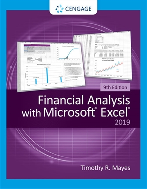 Financial Analysis with Microsoft Excel - 9780357442050