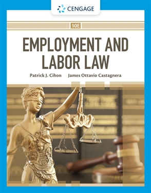 Employment and Labor Law - 9780357445136
