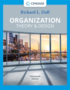 Organization Theory & Design - 9780357445143
