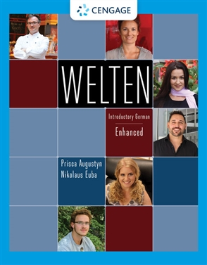 Welten: Introductory German, Enhanced - 9780357445778