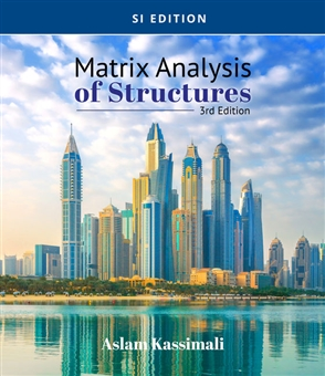 Matrix Analysis of Structures, SI Edition - 9780357448304