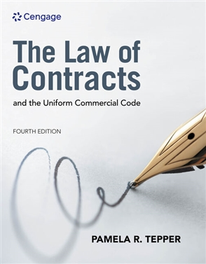 The Law of Contracts and the Uniform Commercial Code - 9780357453025