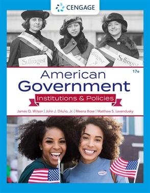 American Government: Institutions and Policies - 9780357459652
