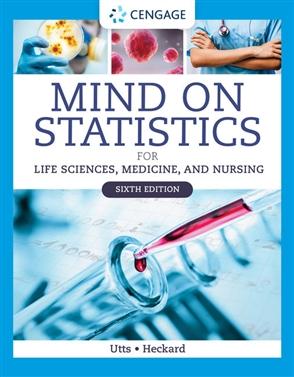 Mind on Statistics for Life Sciences, Medicine, and Nursing - 9780357461105