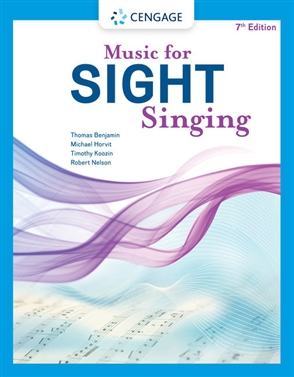 Music for Sight Singing - 9780357507735