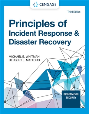 Principles of Incident Response and Disaster Recovery - 9780357508329