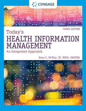 Today's Health Information Management: An Integrated Approach - 9780357510087