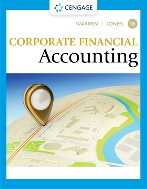Corporate Financial Accounting - 9780357510384