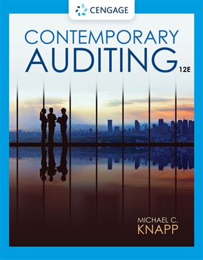 Contemporary Auditing - 9780357515402