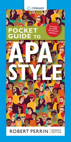 Pocket Guide to APA Style with APA 7e Updates - 9780357632963
