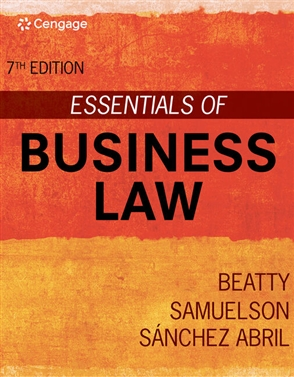 Essentials of Business Law - 9780357633960