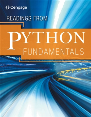 Readings from Python Fundamentals - 9780357636442