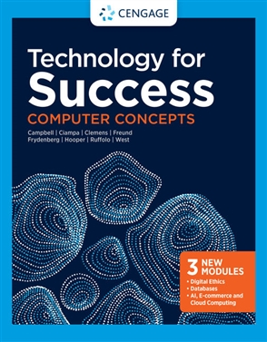 Technology for Success: Computer Concepts - 9780357641002