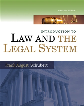 Introduction to Law and the Legal System - 9780357671207