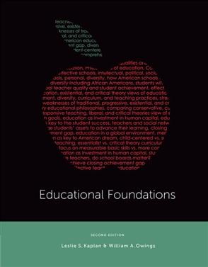Educational Foundations - 9780357671399