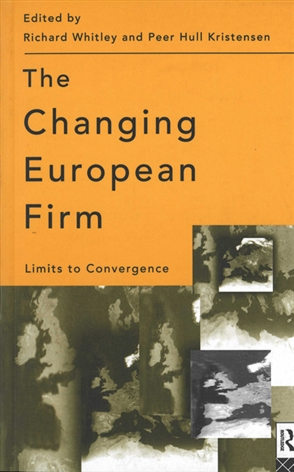 The Changing European Firm - 9780415130004