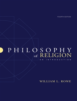 Philosophy of Religion: An Introduction - 9780495007258