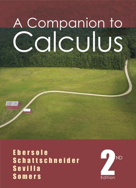 A Companion to Calculus - 9780495011248