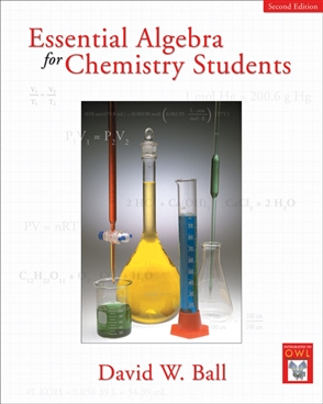 Essential Algebra for Chemistry Students - 9780495013273