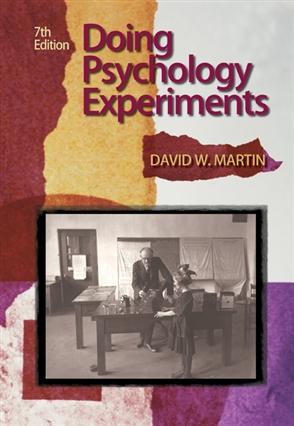 Doing Psychology Experiments - 9780495115779