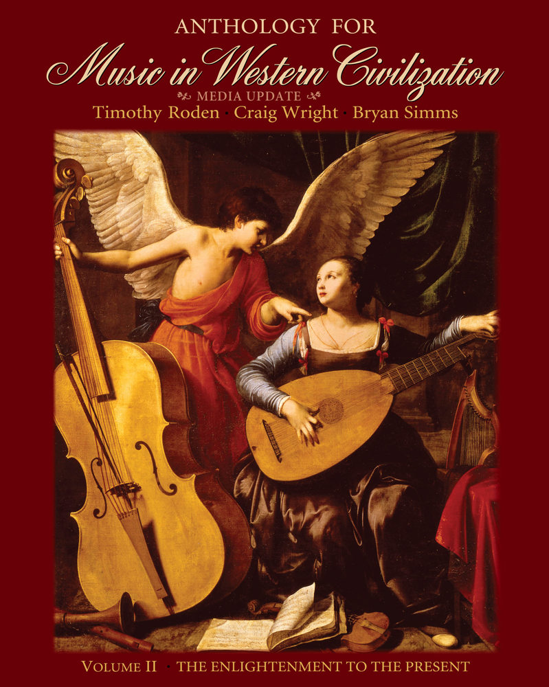 Anthology for Music in Western Civilization, Volume II - 9780495572756