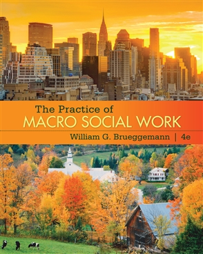 The Practice of Macro Social Work - 9780495602286