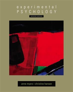 Experimental Psychology - 9780495602316