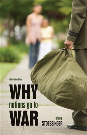 Why Nations Go to War - 9780495797180