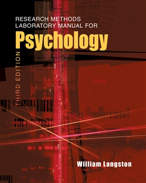 Research Methods Laboratory Manual for Psychology - 9780495811183