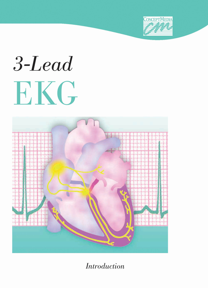 3-Lead EKG: Introduction (DVD) - 9780495819318