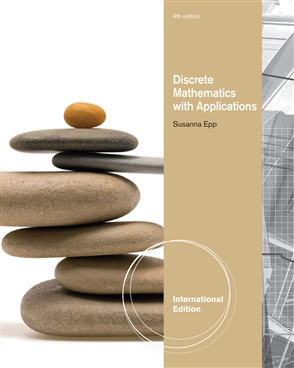 Discrete Mathematics with Applications, International Edition - 9780495826163