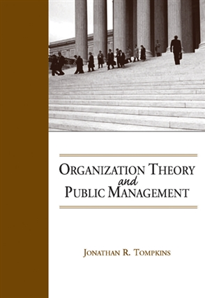 Organization Theory and Public Management - 9780534174682