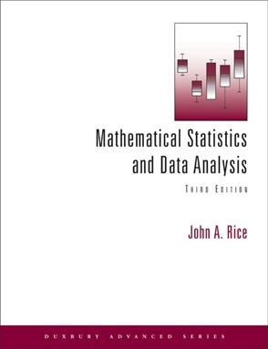 Mathematical Statistics and Data Analysis - 9780534399429
