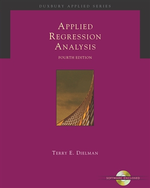 Applied Regression Analysis: A Second Course in Business and Economic Statistics - 9780534465483